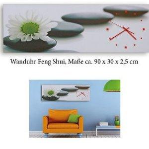 Wanduhr Feng Shui