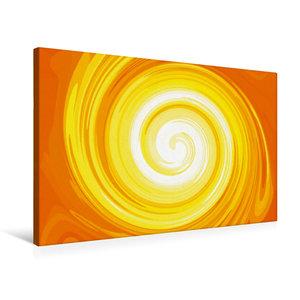 Premium Textil-Leinwand 75 cm x 50 cm quer Sonnenspiralen