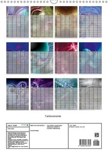Farbmomente (Wandkalender 2019 DIN A3 hoch)