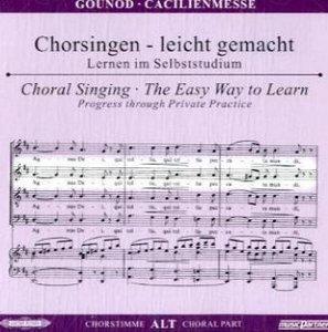 Cäcilienmesse, Chorstimme Alt, 1 Audio-CD