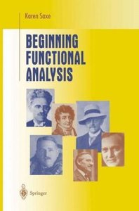 Beginning Functional Analysis