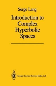 Introduction to Complex Hyperbolic Spaces