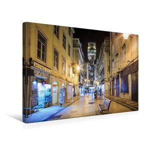 Premium Textil-Leinwand 45 cm x 30 cm quer Elevador de Santa Jus
