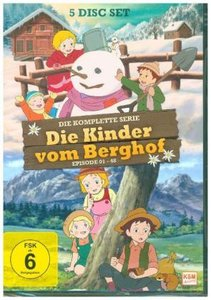 Die Kinder vom Berghof - Gesamtedition, 5 DVD