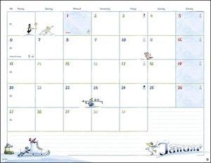Helme Heine Monatsplaner Kalender 2020