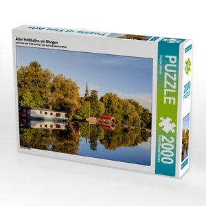 Alter Holzhafen am Morgen 2000 Teile Puzzle quer