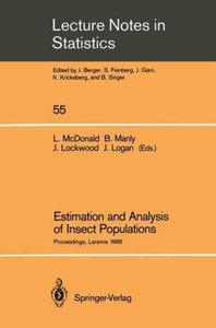 Estimation and Analysis of Insect Populations