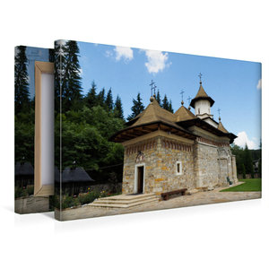 Premium Textil-Leinwand 45 cm x 30 cm quer Kloster Sihastria Put