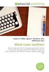 Mark Lane (author)
