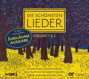 Die schönsten Lieder. Vol.1+2, 2 Audio-CDs