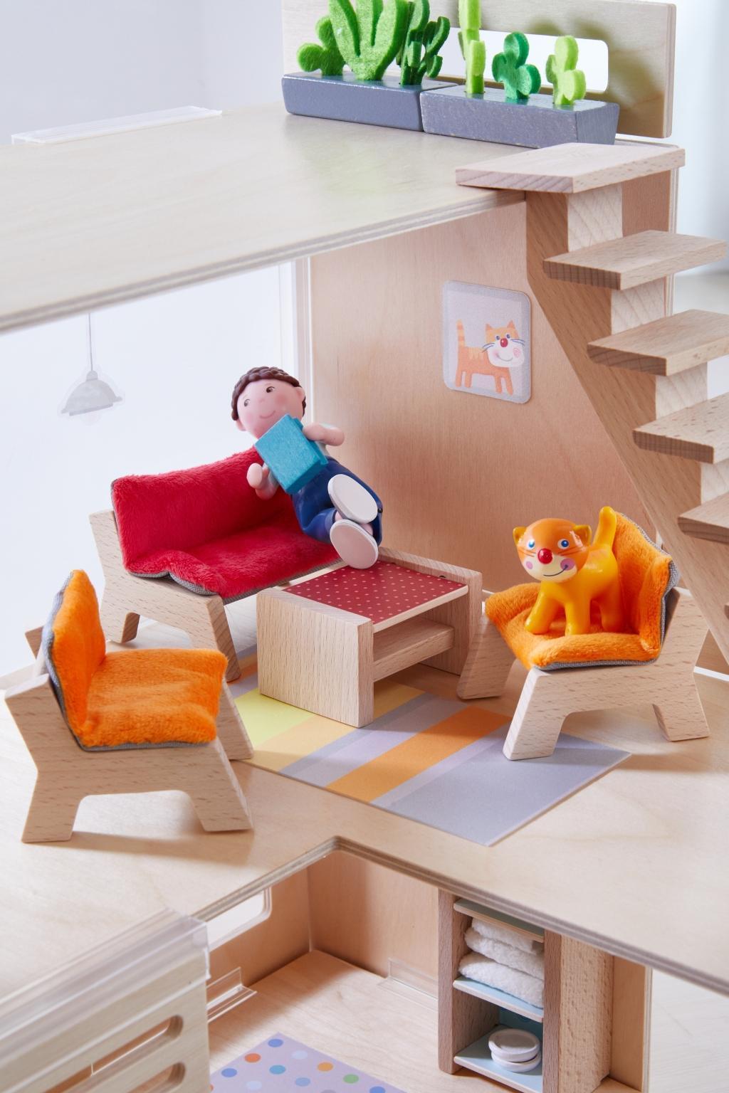 Little Friends - Puppenhaus-Möbel Wohnzimmer [220486277] - 17,45 ...