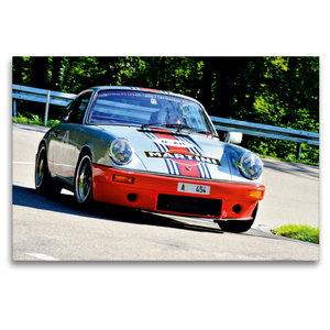 Premium Textil-Leinwand 120 cm x 80 cm quer Porsche 911 RSR Mart