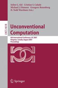 Unconventional Computation
