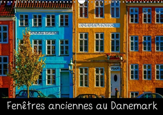 Fenêtres anciennes au Danemark (Calendrier mural 2015 DIN A3 hor - zum Schließen ins Bild klicken