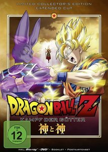 Dragonball Z-The Movie: Kampf der Götter BD+DV