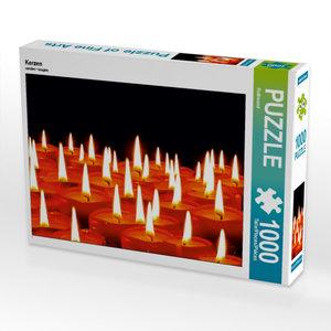 Kerzen 1000 Teile Puzzle quer