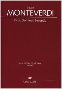 Dixit Dominus, Partitur. Bd.2