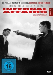 Infernal Affairs. Tl.1, 1 DVD