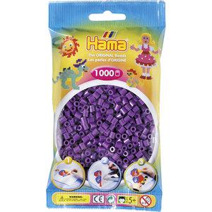Hama 207-07 - Perlen lila, 1000 Stück