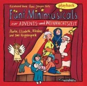Fünf Minimusicals zur Advents- und Weihnachtszeit / CD