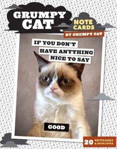 Grumpy Cat Notecards