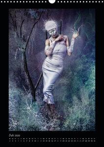 Dunkle Verwandlungen - photography meets dark art