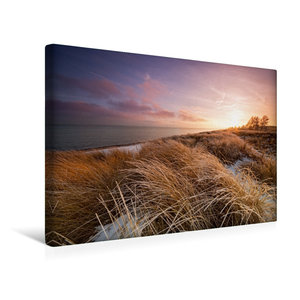 Premium Textil-Leinwand 45 cm x 30 cm quer Winterlicht