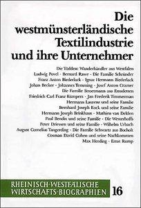Die westmünsterländische Textilindustrie und ihre Unternehmer
