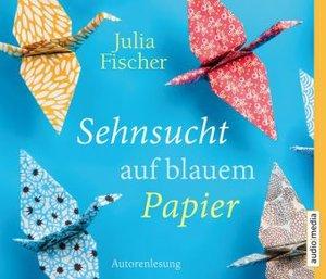 Sehnsucht auf blauem Papier