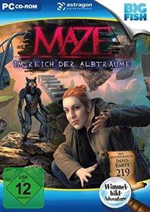 Maze, Im Reich der Albträume, 1 DVD-ROM