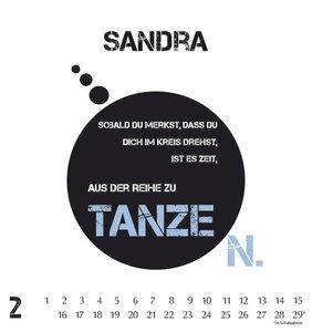 Namenskalender Sandra