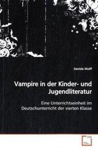 Vampire in der Kinder- und Jugendliteratur