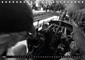 Wiener Prater - Liliputbahn (Tischkalender immerwährend DIN A5 q