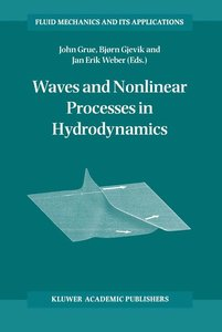 Waves and Nonlinear Processes in Hydrodynamics