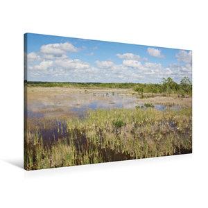 Premium Textil-Leinwand 90 cm x 60 cm quer Ten Thousand Islands