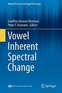 Vowel Inherent Spectral Change