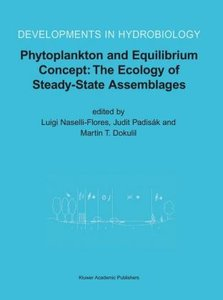 Phytoplankton and Equilibrium Concept: The Ecology of Steady-Sta