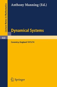 Dynamical Systems - Warwick 1974