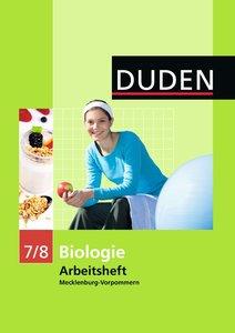 Arbeitsheft Biologie 7/8. Mecklenburg-Vorpommern