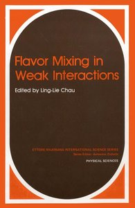 Flavor Mixing in Weak Interactions