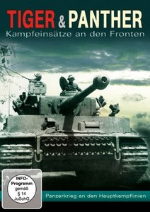 Tiger & Panther-Panzerkrieg an den Hauptkampflinie