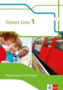 Green Line. Arbeitsheft 5. Klasse. 99 grammatische Übungen mit L