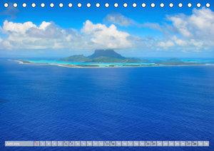 Bora Bora - Strände und Landschaften (Tischkalender 2020 DIN A5