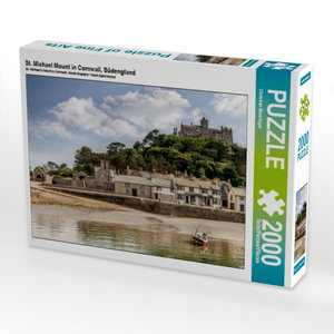 St. Michael Mount in Cornwall, Südengland 2000 Teile Puzzle quer