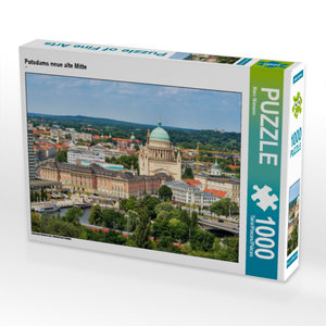 CALVENDO Puzzle Potsdams neue alte Mitte 1000 Teile Lege-Größe 6