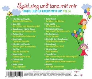 Spiel,Sing Und Tanz Mit Mir Vol.4-Unsere Liebsten