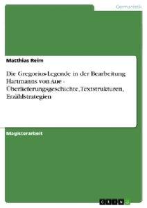Die Gregorius-Legende in der Bearbeitung Hartmanns von Aue - Übe