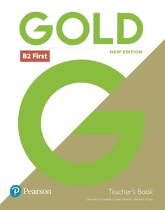 Gold First New Edition Teacher\'s Book and DVD-ROM pack