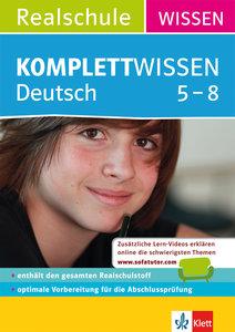 KomplettWissen Realschule Deutsch 5-8