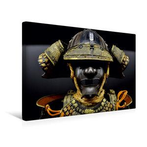 Premium Textil-Leinwand 45 cm x 30 cm quer Samurai